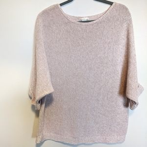 2for$22 H&M sweater L crew neck marled fluid